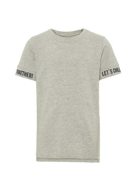 Camiseta Sonny ss top box camp - Gris