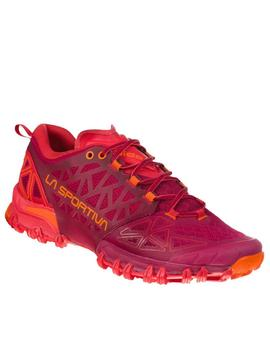 Zapatillas trail Bushido II w - Granate coral