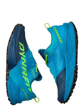 Zapatillas trail Ultra 100 - Azules fluor