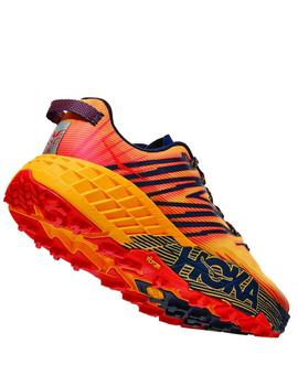 Zapatillas trail  Speedgoat 4 - Amarillo