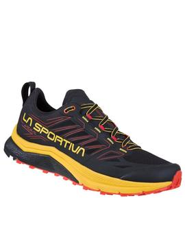 Zapatillas trail Jackal - Negro amarillo