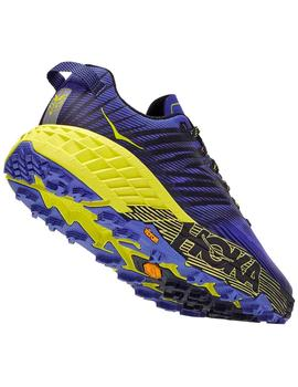 Zapatillas trail Speedgoat 4 m - Azul amarillo