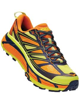 Zapatillas trail Mafate speed 2 - Amarillo naranja
