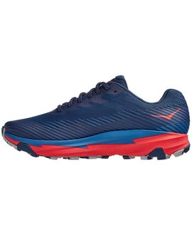 Zapatillas trail Torrent 2 - Azul rojo