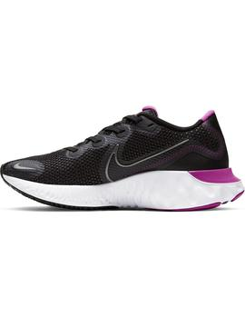 Zapatillas Renew run - Negro rosa blanco