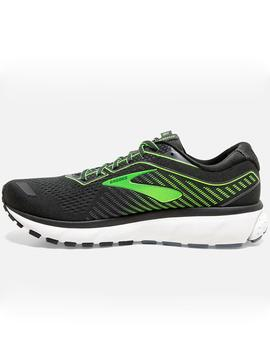 Zapatillas running Ghost 12 - Negro gris lima