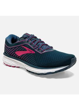 Zapatillas running Ghost 12 - Turquesa rosa