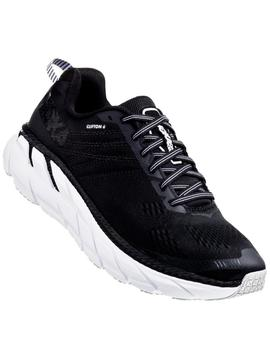 Zapatillas running Clifton 6 - Negro blanco