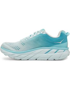 Zapatillas running Clifton 6 - Turquesa claro
