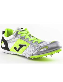 Zapatillas atletismo Spikes - Blanco
