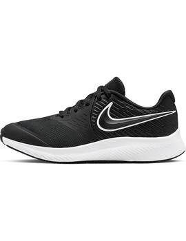 Zapatillas - Star runner 2 gs - Negro blanco