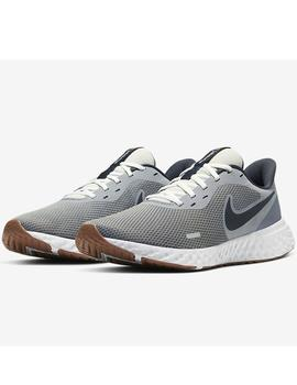Zapatillas Revolution 5 - Gris blanco