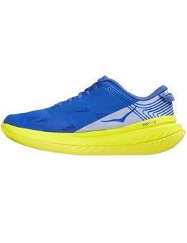 Zapatillas running Carbon x - Azul lima
