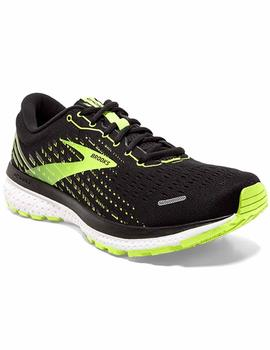 Zapatillas running Ghost 13 - Negro fluor