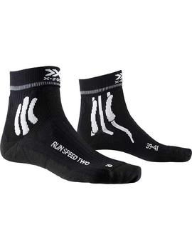 Calcetines Run speed two - Negro