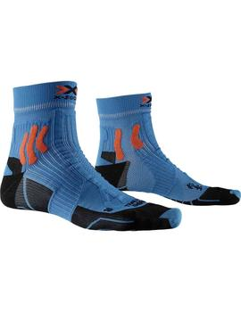 Calcetines Trail run energy - Azul naranja