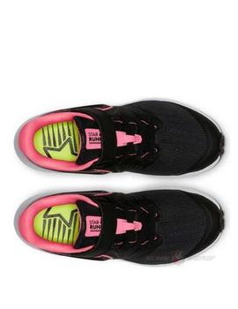 Zapatillas Star runner 2 psv - Negro rosa