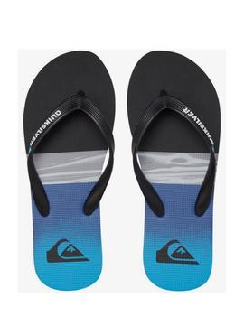 Chanclas Molokai hold down - Negro azul
