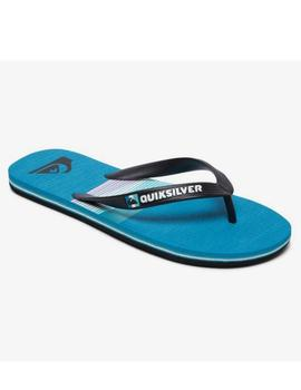 Chanclas Molokai seasons - Negro azul