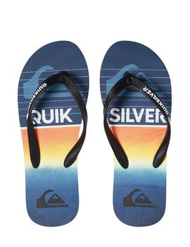 Chanclas Molokai highline slab - Negro azul