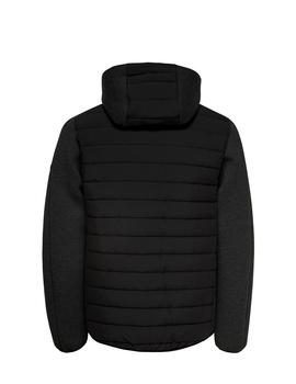 Chaqueta Brion quilted zip - Negro