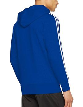 Chaqueta Essential 3 stripes full zip - Azul