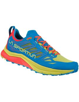 Zapatillas trail Jackal - Azul amarillo