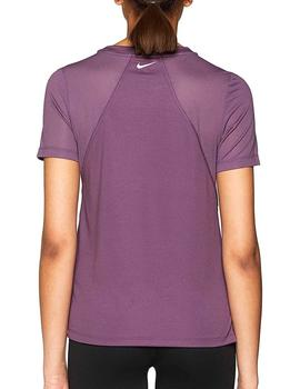 Camiseta Miler short sleeve running top - Morado