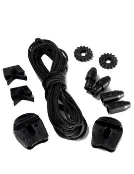 Cordones QUICKLACE KIT - NEGRO