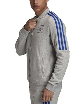 Chaqueta M 3 stripes tape tt - Gris