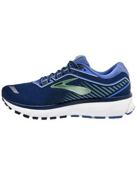 Zapatillas running Ghost 12 - Azules blanco