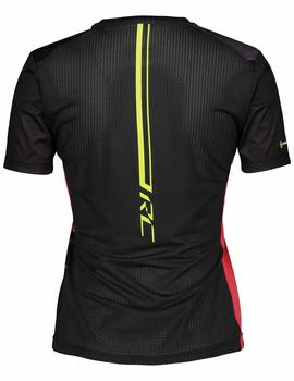 Camiseta Rc run s-sl ws - Negro rosa