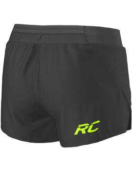 Pantalón corto Split ms rc run - Negro amarillo