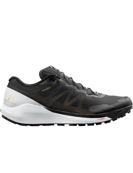 Zapatillas sense ride 3 trail golden series - Negro blanco