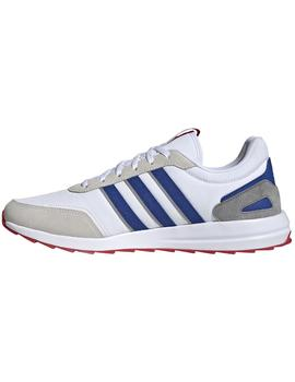 Zapatillas urban Retro runner - Blanco azul