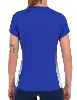 Camiseta Elite vii - Royal blanco