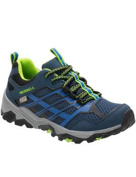 Zapatillas trekking Moab low waterproof - Marino