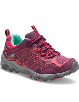 Zapatillas trekking Moab low waterproof - Morado