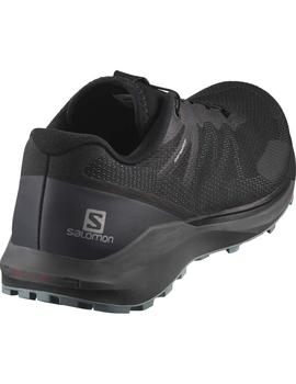 Zapatillas trail Sense ride 3 - Negro