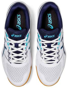 Zapatillas indoor Upcourt 4 - Blanco azul