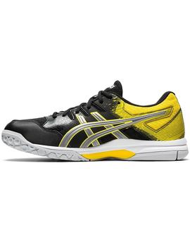 Zapatillas indoor Gel rocket 9 - Negro amarillo