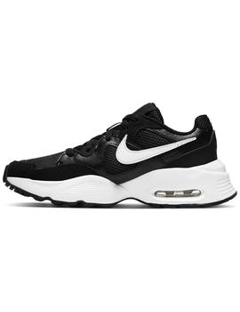 Zapatillas Air max fusion wmns - Negro blanco