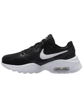 Zapatillas Air max fusion gs - Negro blanco