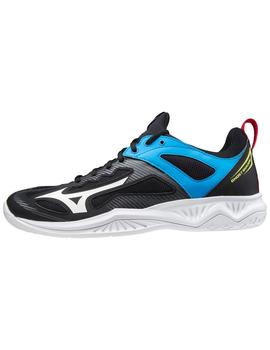 Zapatillas indoor Ghost shadow - Negro azul blanco