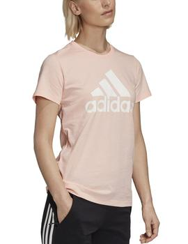 Camiseta W bos co tee - Coral