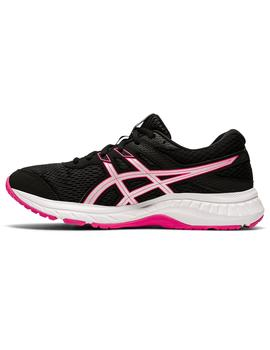 Zapatillas Gel contend 6 - Negro rosa