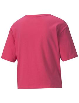 Camiseta Amplified tee - Rosa