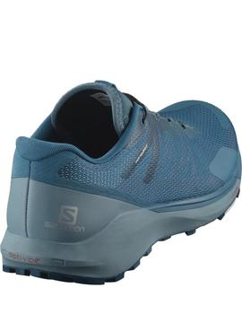Zapatillas trail Sense ride 3  - azul