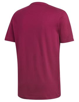 Camiseta M 3 stripes tape tee - Magenta