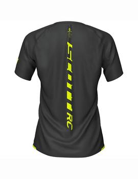 Camiseta Rc run ws - Amarillo negro
